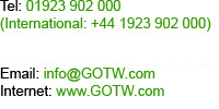 GOTW get on the web contact details